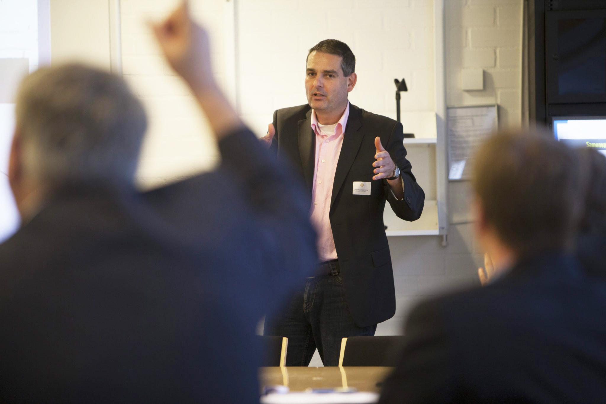 Sander lubberhuizen van Energiek Apeldoorn